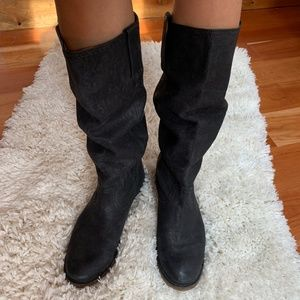 FRYE Knee-High Pull-On Boots